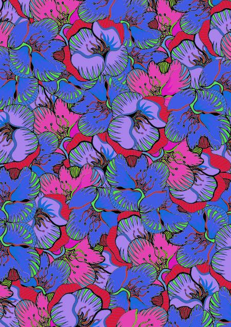 floral-print 2